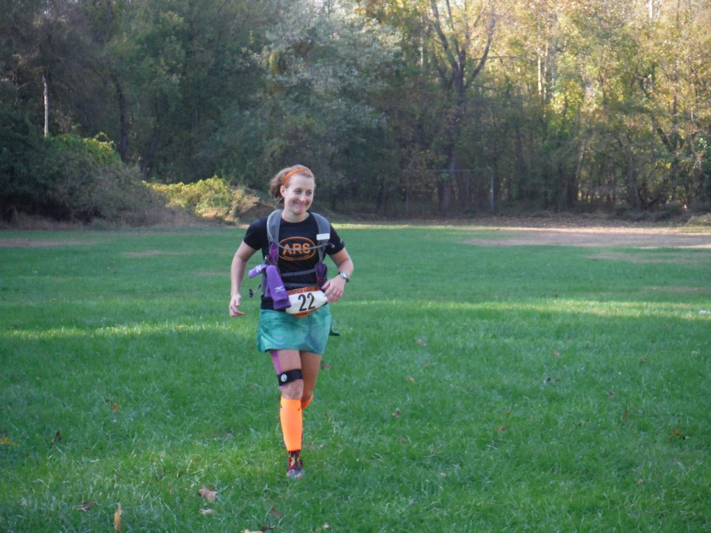 Patapsco Valley 50K Finish, photo by my much-faster friend Jimmy